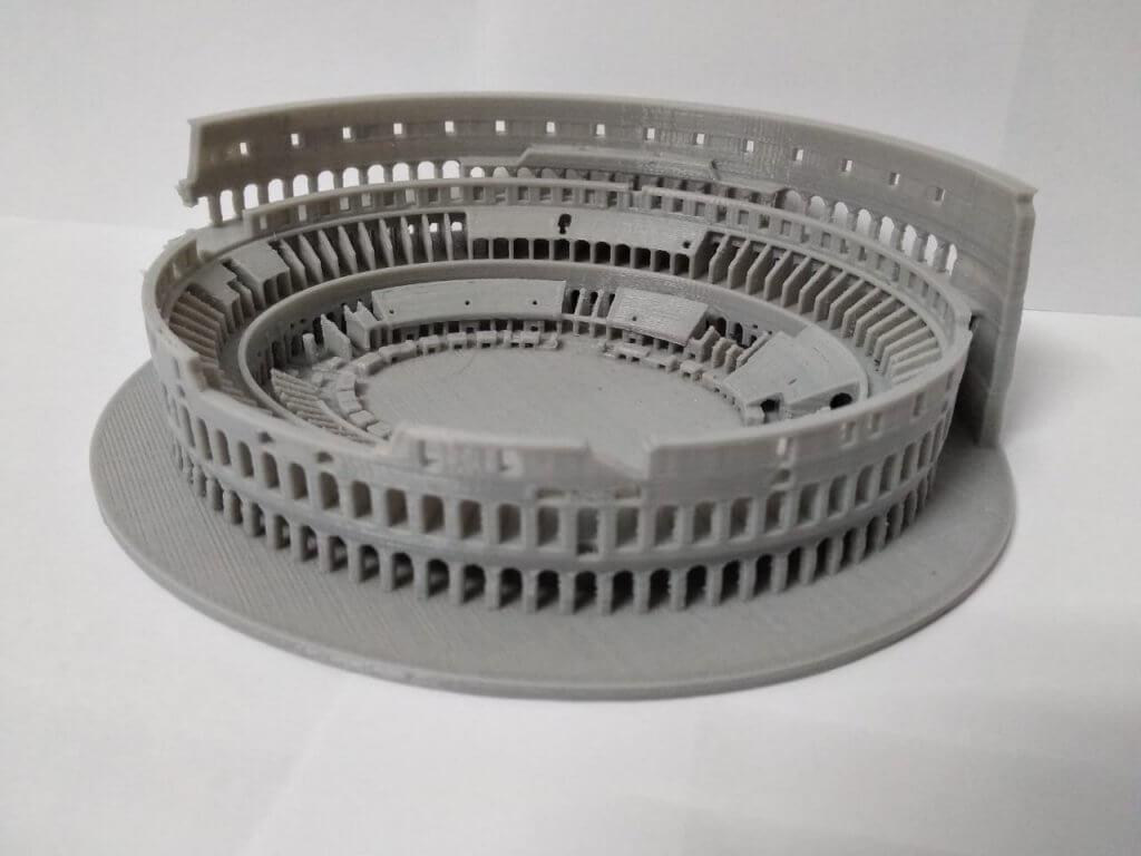 Coliseo romano impresión 3D