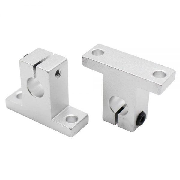 soporte sk8 para varilla lisa 8 mm 3d cnc chumacera piso