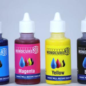 Kit Pigmentos CMYK Monocure resina colorante