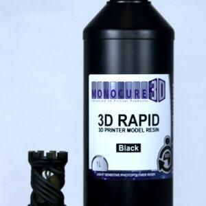 1 litro Resina Rapid Monocure SLA DLP Negro