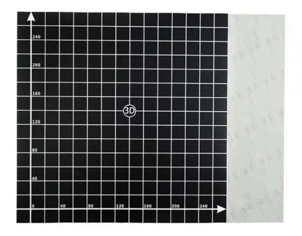 Sticker tipo Buildtak para CR-10